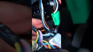 Замена лампочек подсветки блока отопителя Ниссан альмера G15