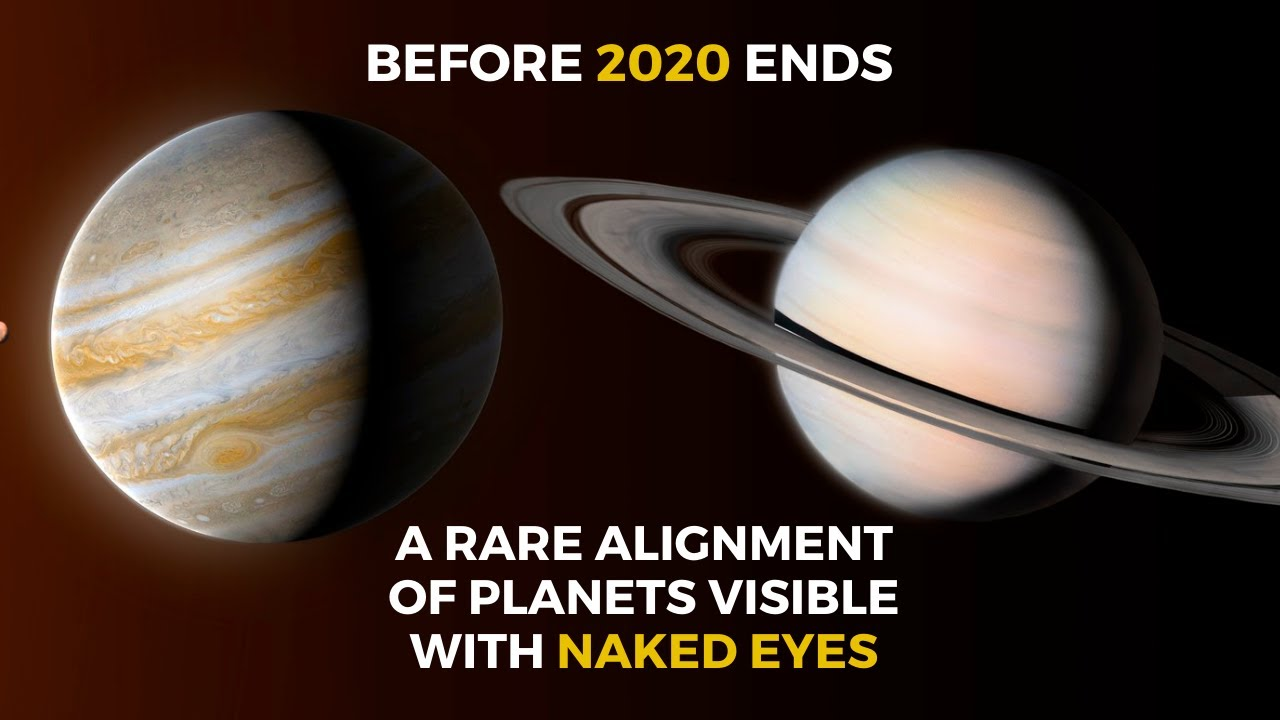 A Rare Alignment of Planets After 800 Years On December 21, 2020 | The Great Conjunction