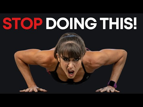 Stop Doing Knee Push Ups - Do This Instead!