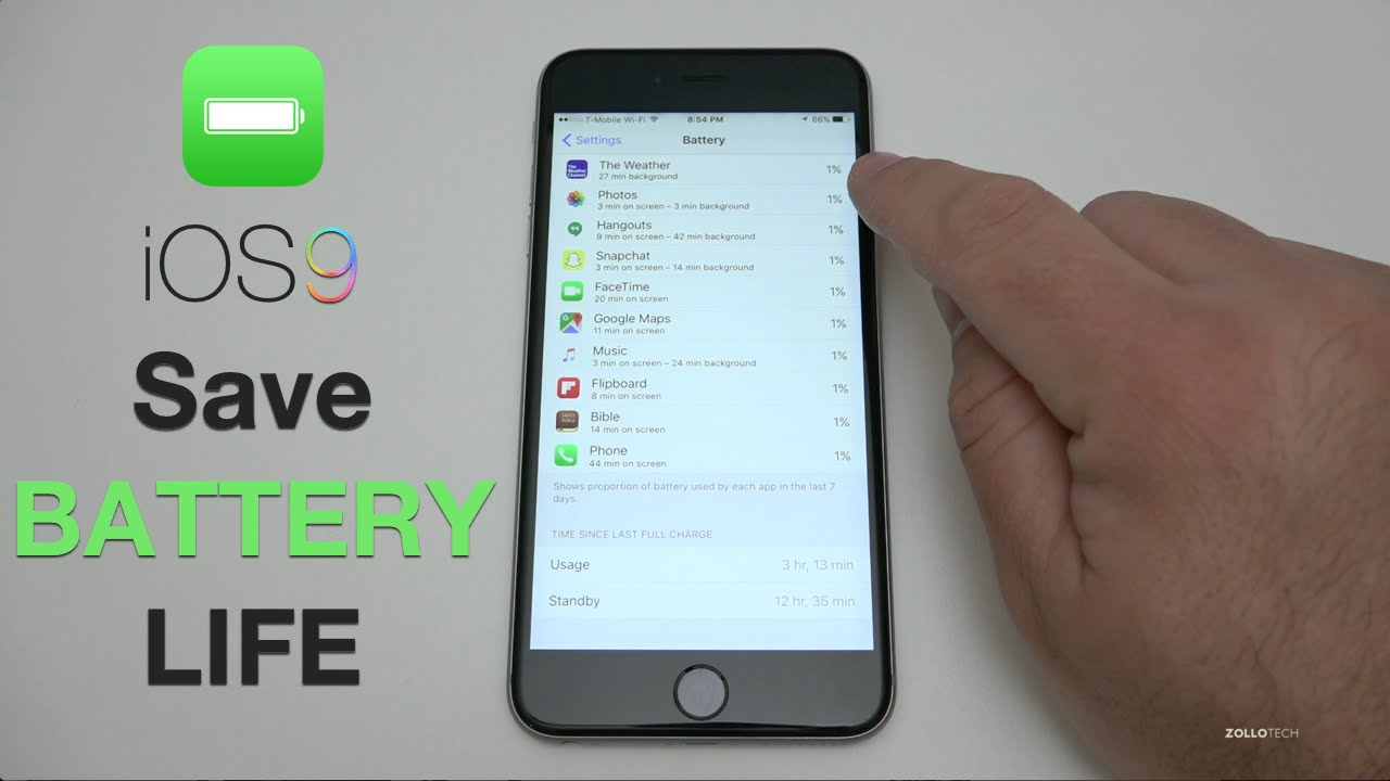 save iphone battery how to save battery on ios 9 iphone and tips 12914