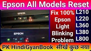 L1300 Epson Printer Error