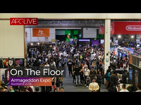 Armageddon Expo Auckland 2018 - On The Floor [#APGLive]
