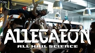 Allegaeon – All Hail Science (OFFICIAL VIDEO)