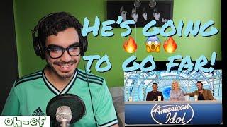 speechless!! Arthur Gunn   American Idol Audition   Reaction #ArthurGunn #AmericanIdol #Reaction