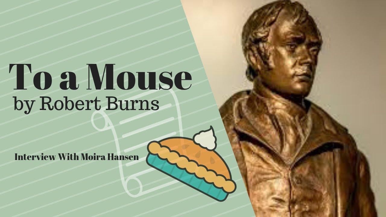 """Download Robert Burns """"To A Mouse """" Expert Interview Moira Hansen"""