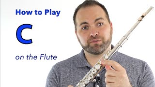 Beginner Flute Lesson 7 - H๐w to Play C