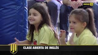 Clase abierta de Inglés, Aldana Zalazar - Instituto Obras (6-10-2017)