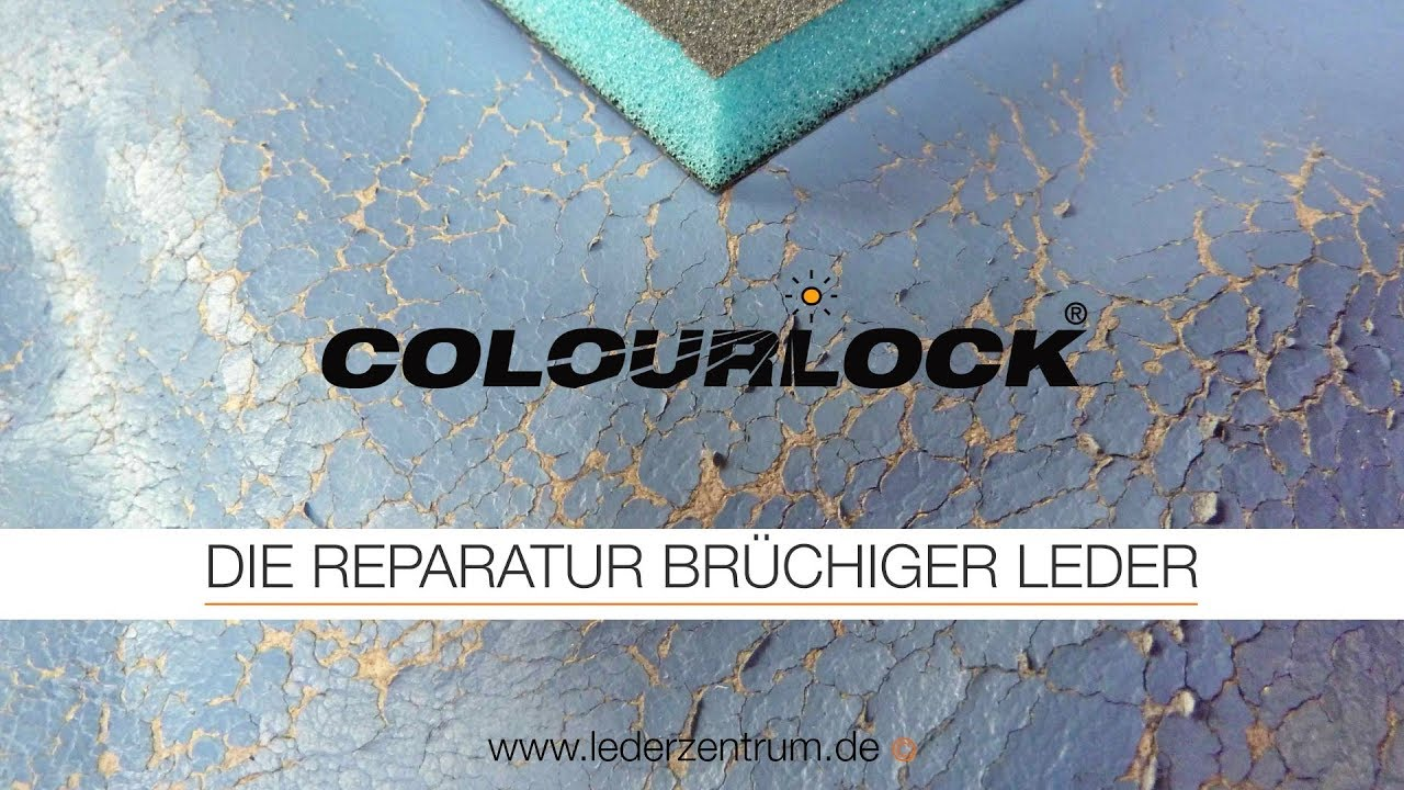 Autositz Reparieren The Repair Of Brittle Leather