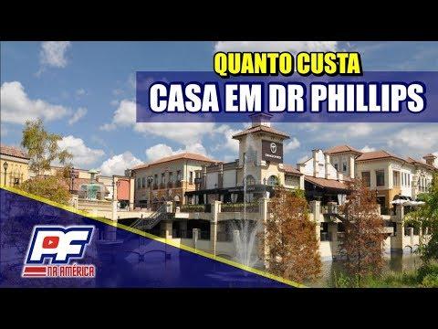 MORAR EM DR PHILLIPS - Quanto custa uma boa casa?