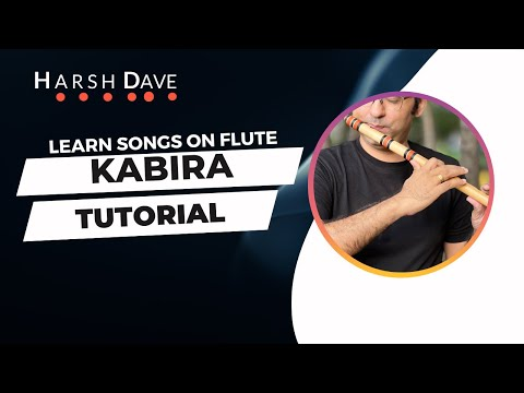Kabira Song  (Yeh Jawaani Hai Deewani) Flute Tutorial by Harsh Dave