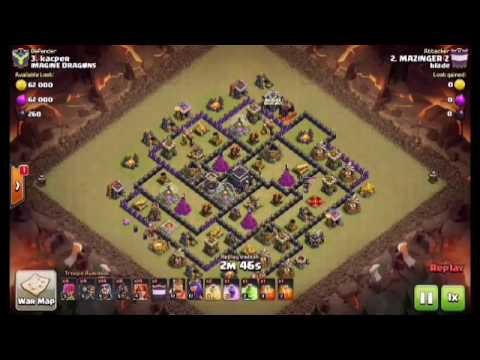 WALL BREAKERS -The Best War Clan Castle Troop
