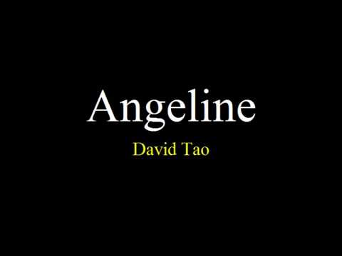 David Tao   Angeline