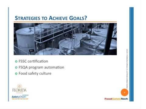 SafetyChain Webinar - Automating Food Safety & Quality Programs --  Case Study
