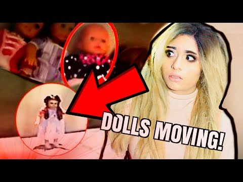 DOLLS MOVING CAUGHT ON CAMERA!! | PART 2 SCARY (Reaction)