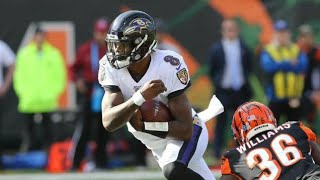 Lamar Jackson Highlights vs. Bengals Week 10 (2019)