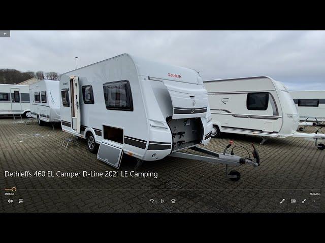 Dethleffs 460 EL Camper D Line 2021 LE Camping