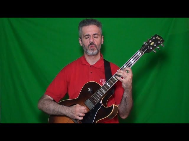 WES MONTGOMERY - BESAME MUCHO solo cover by MARCELLO ZAPPATORE