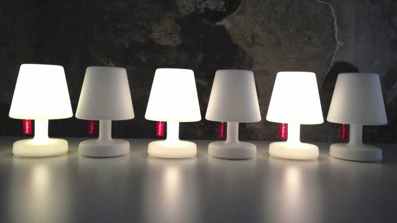 Fatboy edison the petit youtube - Lampe fatboy bordeaux ...