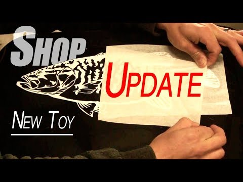 SHOP UPDATE - Custom Fish Decal & New Toy!