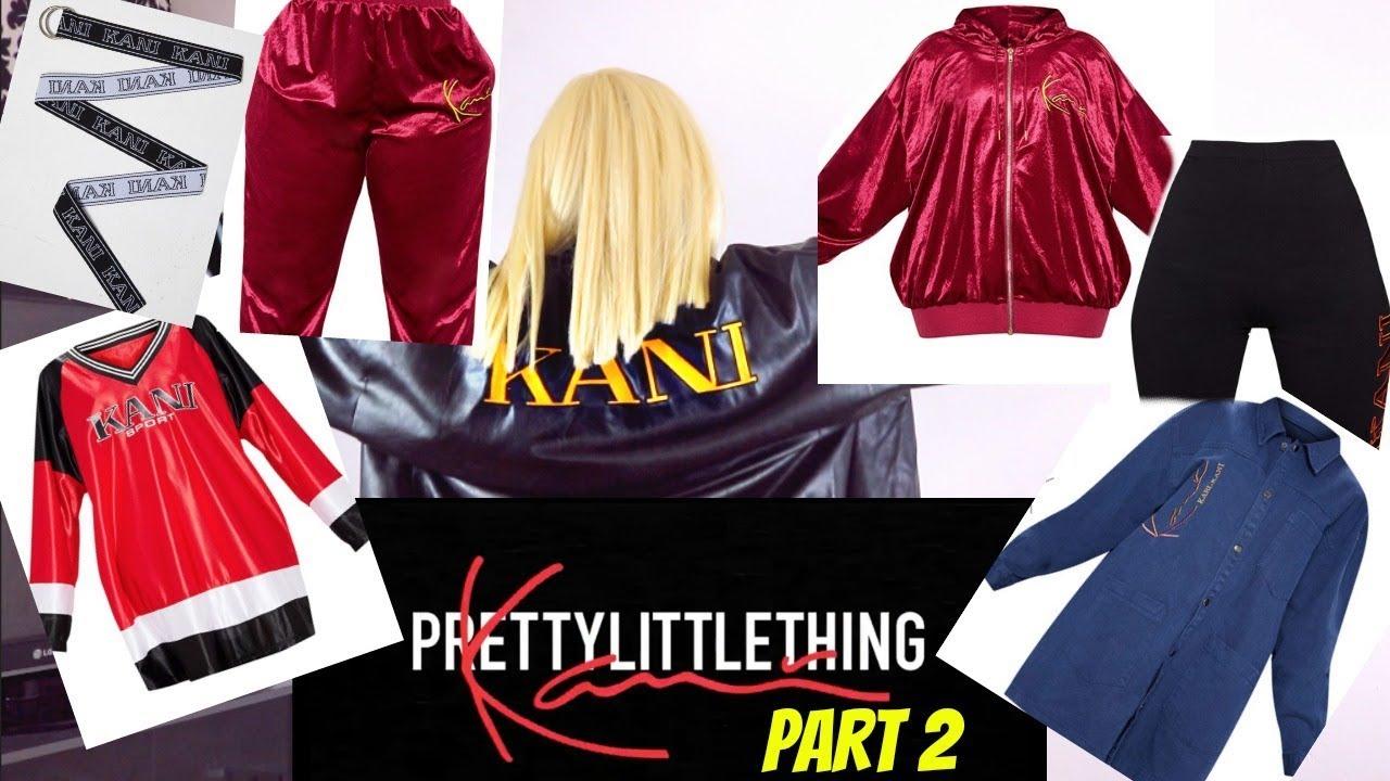 38cc66e033 Karl Kani Part 2 x Pretty Little Thing Clothing Try On Haul