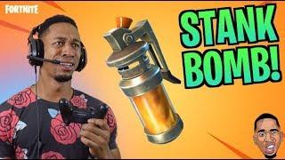 NEW STINK BOMB! 💩💩 Fortnite Live Stream w/ Subscribers