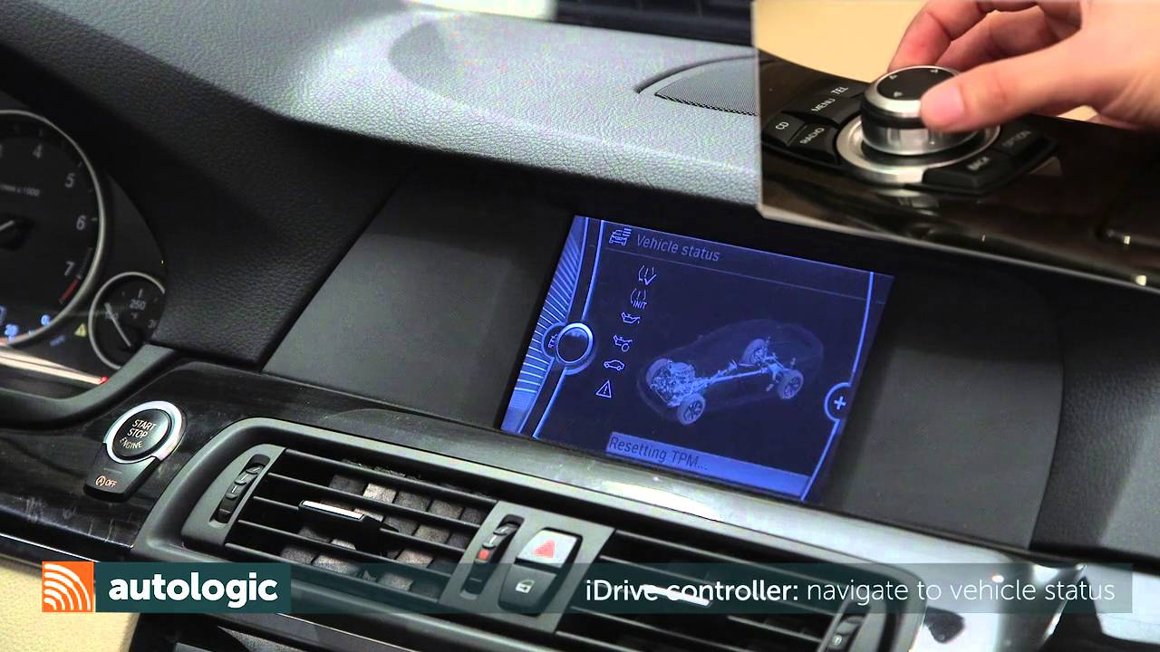 bmw 5 series f10 maintenance and service item reset and check cbs hd [ 1280 x 720 Pixel ]