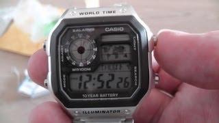 casio stainless steel watch ae 1200whd 1av