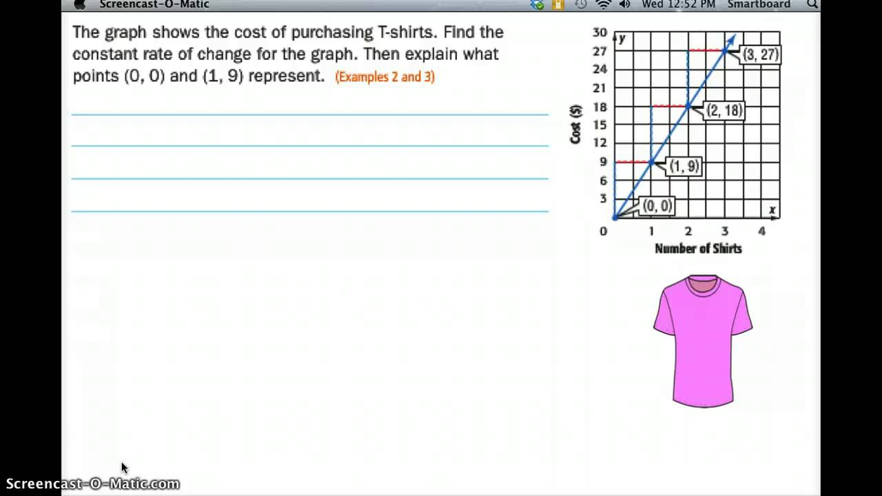 Rate Of Change: Table And Graph - Lessons - Blendspace Throughout Constant Rate Of Change Worksheet