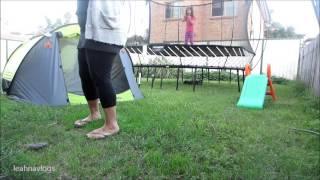 Backyard Camping | 19-05-2013 | Leahnavlogs