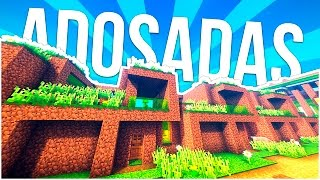 ► CONSTRUYENDO CON TIERRA ~ CASAS MODERNAS ADOSADAS