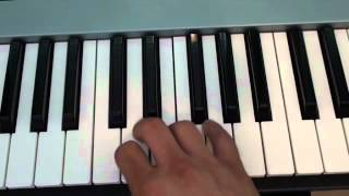 How to play Young Folks by Peter Bjorn and John on piano