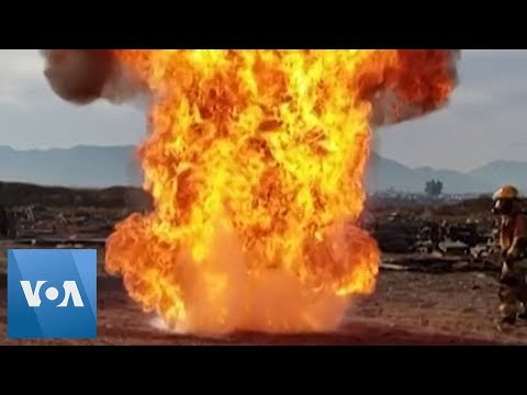 Firefighters Show Dangers Of Deep-Frying Thanksgiving Turkey