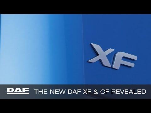 DAF Trucks UK   The New DAF XF and CF revealed   2017 CV Show