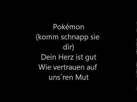 Pokémon Op. 1 german lyrics