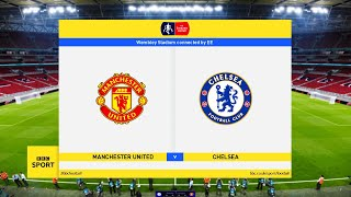 This video is the gameplay of manchester united vs chelsea - fa cup 19 july 2020 predictionif you want to support on patreon https://www.patreon.com/pesmesug...