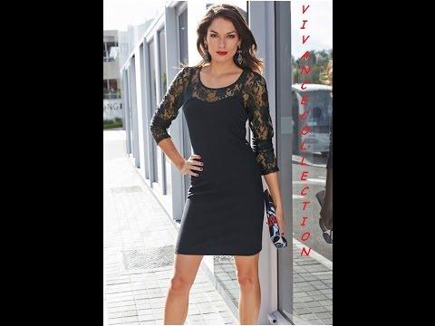 Вечерние и коктейльные платья - Модное коктейльное платье VIVANCE COLLECTION с кружевами