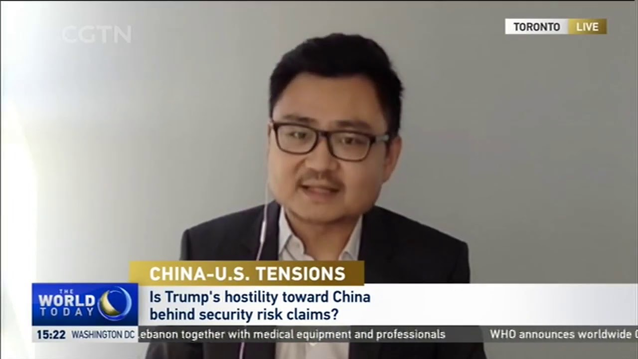 Sean Ding on U.S. President Donald Trump targeting TikTok