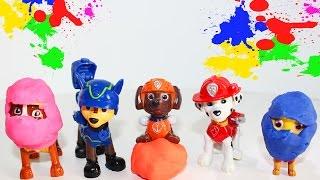 Щенячий патруль ГЕРОИ В МАСКАХ Видео для малышей с игрушками Супер герои мультика Изучаем Цвета