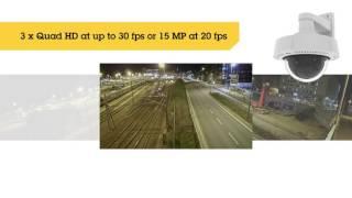 AXIS Q3708-PVE vidéo