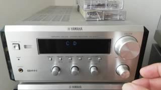Yamaha RX E400 CDX E400 DVD E810