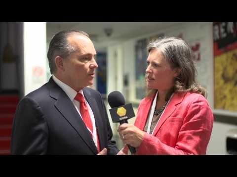 Alberto Aleman Zubieta, Panama Canal Authority - ICOSA Interview - Biennial 2013