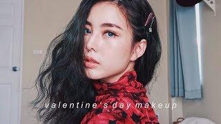 แต งหน าร บวาเลนไทน Valentine S I Got Blue Eyes L Bew Varaporn