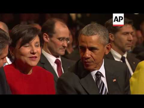 Obama arrives at Hannover fair