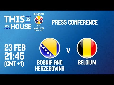 Bosnia & Herzegovina v Belgium - PC - FIBA Basketball World Cup 2019 - European Qualifiers