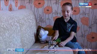 Андрей Кукушкин, 8 лет, скрытая косая расщелина лица, воспаление слезного мешка