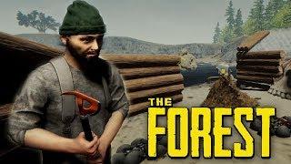 СТРОИМ СВОЮ ДЕРЕВНЮ В ЛЕСУ! (УГАР) - The Forest