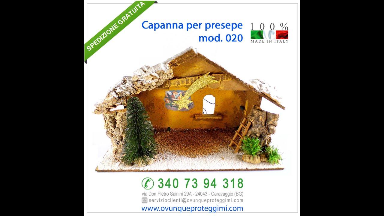 Capanna Per Presepe Mod 020