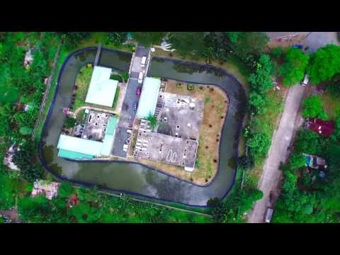 Aerial - The University of the Philippines Wastewater Treatment Plant (Diliman, Quezon City).