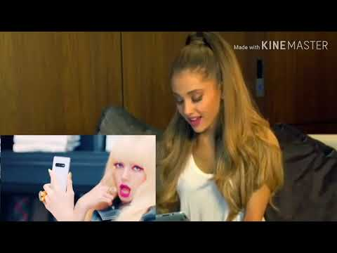 ARIANA GRANDE REACTS TO BLACK PINK-'KILL This Love