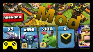 Modded Clash Of Clans Gameplay (Working)